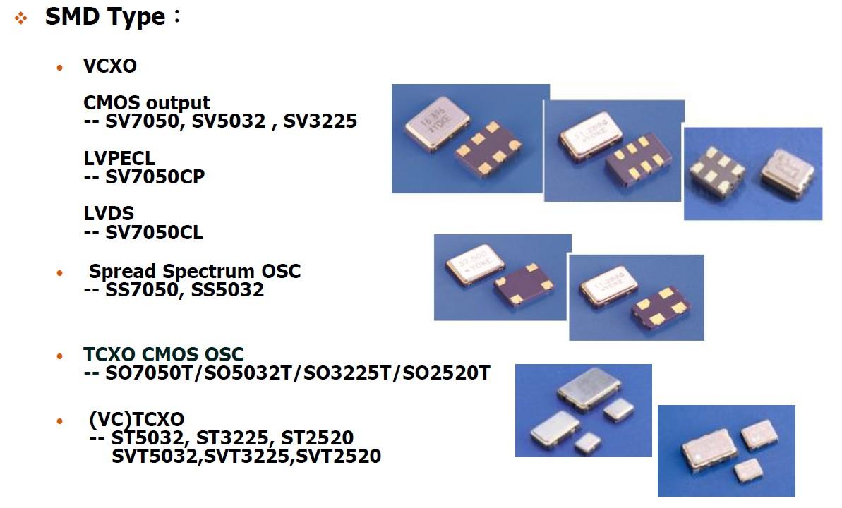 石英晶體振盪器模組較常見有以下種類 汎翊國際有限公司 Flying International